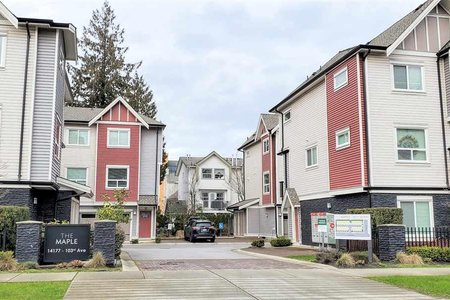R2439164 - 8 14177 103 AVENUE, Whalley, Surrey, BC - Townhouse