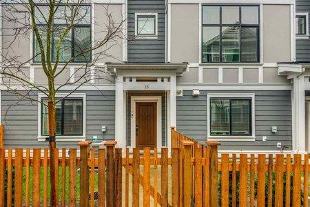 R2443881 - 15 19133 73 AVENUE, Clayton, Surrey, BC - Townhouse