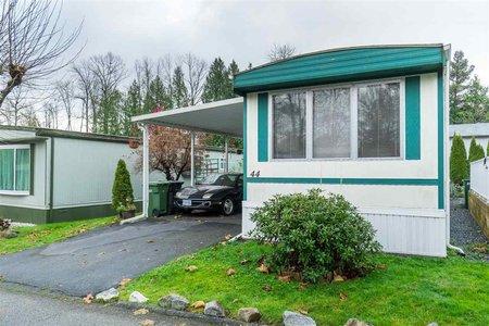 R2444828 - 44 8220 KING GEORGE BOULEVARD, Bear Creek Green Timbers, Surrey, BC - Manufactured