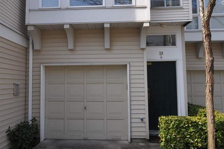 R2446125 - 39 12311 MCNEELY DRIVE, East Cambie, Richmond, BC - Townhouse