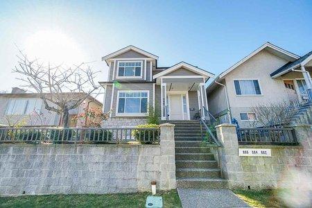 R2447497 - 886 E KING EDWARD AVENUE, Fraser VE, Vancouver, BC - House/Single Family