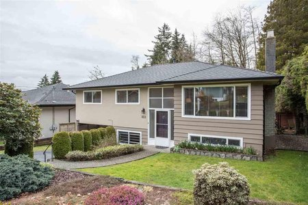 R2448395 - 851 PLYMOUTH DRIVE, Windsor Park NV, North Vancouver, BC - House/Single Family