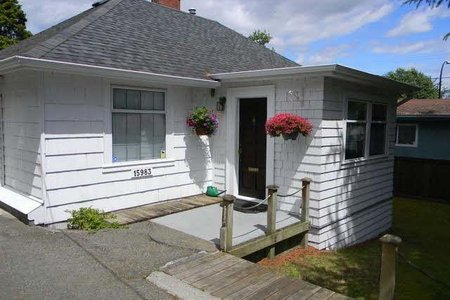 R2462213 - 15983 BUENA VISTA AVENUE, White Rock, White Rock, BC - House/Single Family