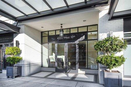 R2462324 - 408 4355 W 10TH AVENUE, Point Grey, Vancouver, BC - Apartment Unit