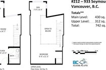 212 933 SEYMOUR STREET, Vancouver - R2463333