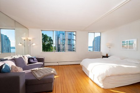 R2463609 - 608 1250 BURNABY STREET, West End VW, Vancouver, BC - Apartment Unit