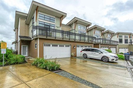 R2464240 - 5 9989 E BARNSTON DRIVE, Fraser Heights, Surrey, BC - Townhouse