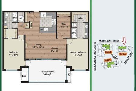 R2465895 - 409 3535 146A STREET, King George Corridor, Surrey, BC - Apartment Unit