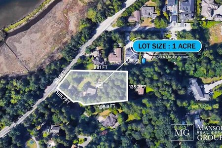 R2466225 - 13872 CRESCENT ROAD, Elgin Chantrell, Surrey, BC - House with Acreage
