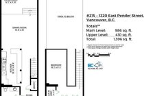 215 1220 E PENDER STREET, Vancouver - R2466369