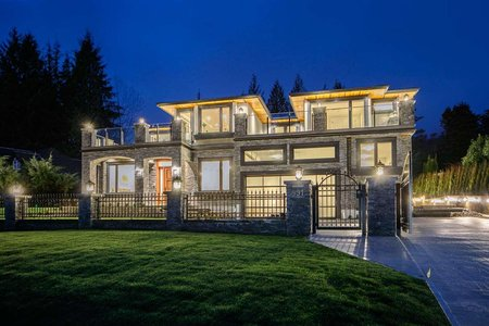 R2467387 - 991 CROSS CREEK ROAD, British Properties, West Vancouver, BC - House/Single Family