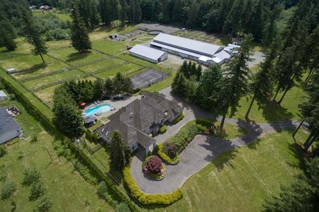 R2467549 - 1220 232 STREET, Campbell Valley, Langley, BC - House with Acreage