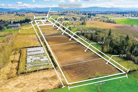 R2468670 - 2921 240 STREET, Otter District, Langley, BC - House with Acreage
