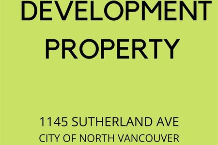 R2469846 - 1145 SUTHERLAND AVENUE, Boulevard, North Vancouver, BC - House/Single Family