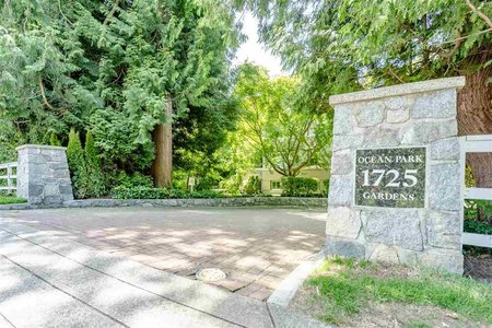 R2470348 - 103 1725 128 STREET, Crescent Bch Ocean Pk., Surrey, BC - Apartment Unit
