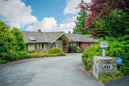 R2481060 - 1418 BRAMWELL ROAD, Chartwell, West Vancouver, BC - House/Single Family
