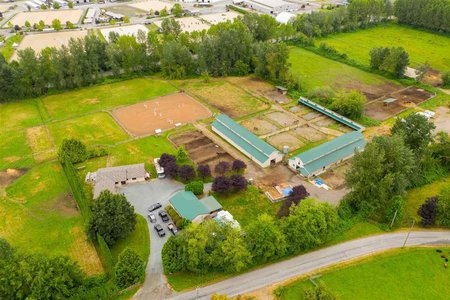R2485615 - 7307 TELEGRAPH TRAIL, County Line Glen Valley, Langley, BC - House with Acreage