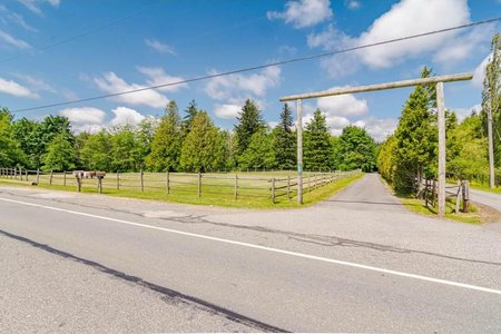 R2494039 - 19621 8 AVENUE, Campbell Valley, Langley, BC - House with Acreage