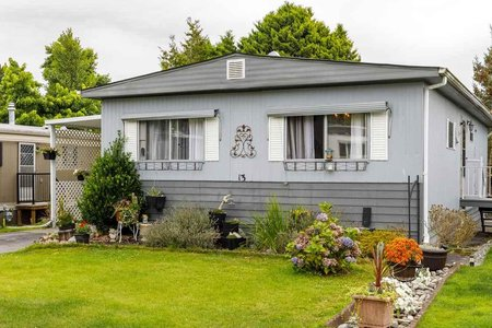 R2496463 - 13 1840 160 STREET, King George Corridor, Surrey, BC - Manufactured