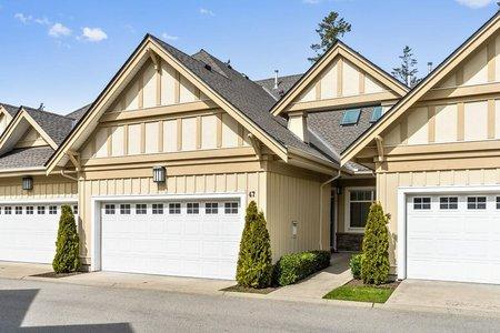 R2503240 - 47 14968 24 AVENUE, Sunnyside Park Surrey, Surrey, BC - Townhouse