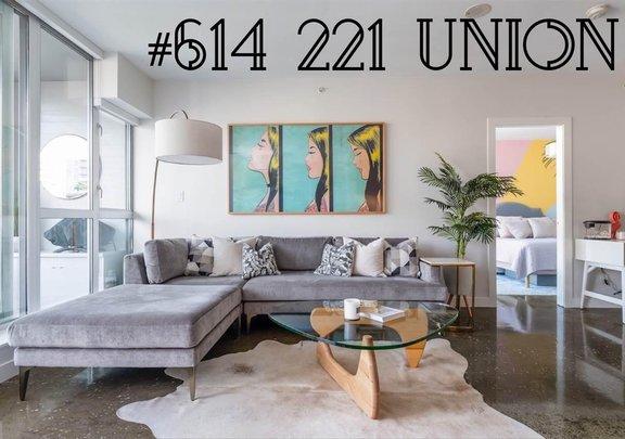 614 221 UNION STREET, Vancouver - R2503794