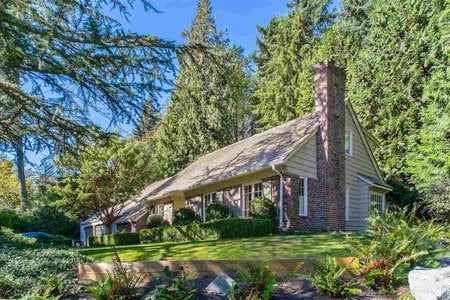 R2504032 - 4619 CAULFEILD DRIVE, Caulfeild, West Vancouver, BC - House/Single Family