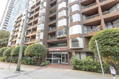 R2508428 - 103 950 DRAKE STREET, Downtown VW, Vancouver, BC - Apartment Unit