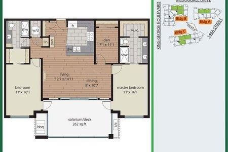 R2509030 - 305 14588 MCDOUGALL DRIVE, King George Corridor, Surrey, BC - Apartment Unit