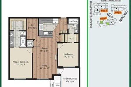 R2511848 - 507 3535 146A STREET, King George Corridor, Surrey, BC - Apartment Unit
