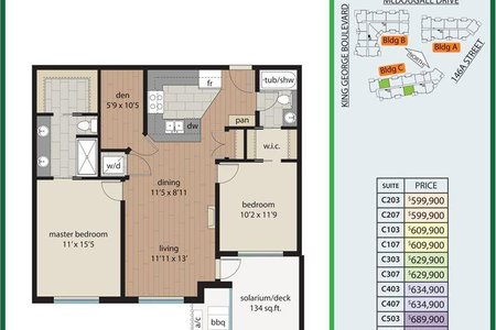 R2512356 - 503 3535 146A STREET, King George Corridor, Surrey, BC - Apartment Unit