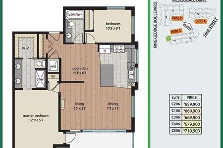 R2516665 - 406 3535 146A STREET, King George Corridor, Surrey, BC - Apartment Unit