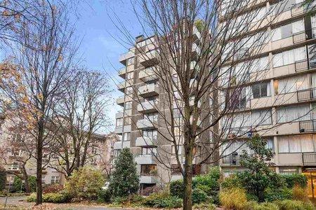 R2520362 - 103 1108 NICOLA STREET, West End VW, Vancouver, BC - Apartment Unit