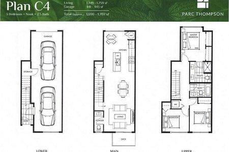 R2525414 - 116 4300 THOMPSON ROAD, Hamilton RI, Richmond, BC - Townhouse