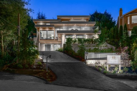 R2526176 - 549 ST. ANDREWS ROAD, Glenmore, West Vancouver, BC - House/Single Family