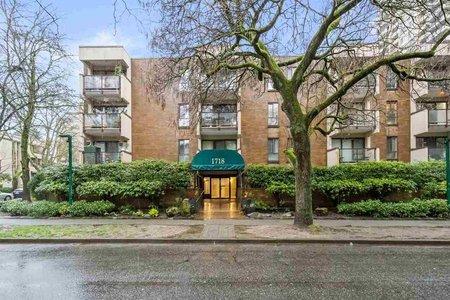 R2526847 - 302 1718 NELSON STREET, West End VW, Vancouver, BC - Apartment Unit