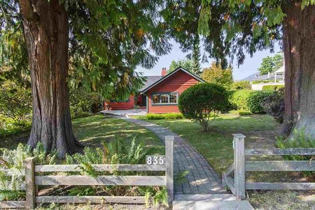 R2527542 - 835 20TH STREET, Ambleside, West Vancouver, BC - House/Single Family