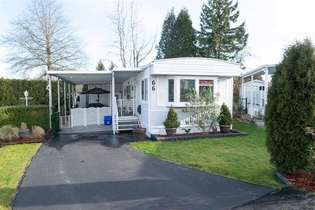 R2534834 - 66 1840 160 STREET, King George Corridor, Surrey, BC - Manufactured