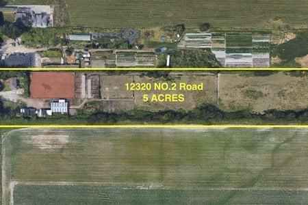 R2539157 - 12320 NO. 2 ROAD, Gilmore, Richmond, BC - House with Acreage