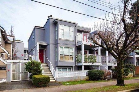 R2540185 - 407 1333 W 7TH AVENUE, Fairview VW, Vancouver, BC - Apartment Unit