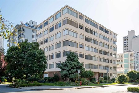 R2540276 - 403 1050 CHILCO STREET, West End VW, Vancouver, BC - Apartment Unit