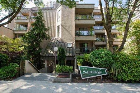 R2541335 - 109 1080 PACIFIC STREET, West End VW, Vancouver, BC - Apartment Unit