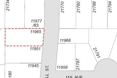 R2543349 - 11965 HALL STREET, West Central, Maple Ridge, BC - House/Single Family