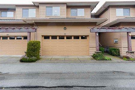 R2543409 - 11 16655 64 AVENUE, Cloverdale BC, Surrey, BC - Townhouse
