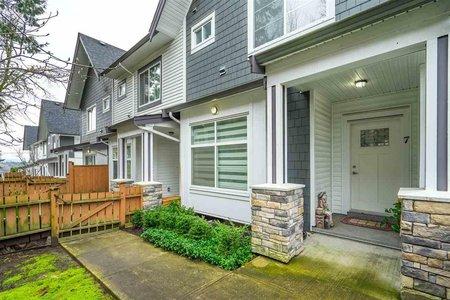 R2544805 - 7 6767 196 STREET, Clayton, Surrey, BC - Townhouse