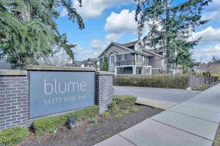 R2546088 - 1 14377 60 AVENUE, Sullivan Station, Surrey, BC - Townhouse