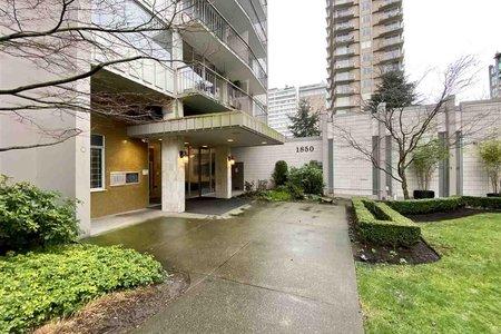 R2550363 - 601 1850 COMOX STREET, West End VW, Vancouver, BC - Apartment Unit