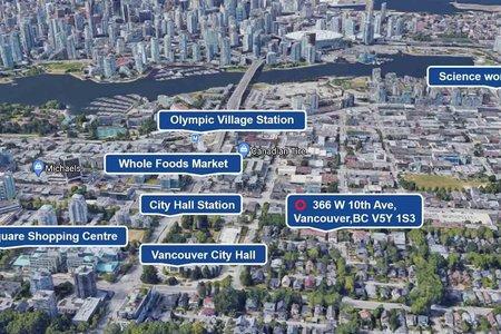 R2559760 - 366 W 10TH AVENUE, Mount Pleasant VW, Vancouver, BC - Townhouse