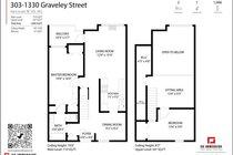 303 1330 GRAVELEY STREET, Vancouver - R2560034