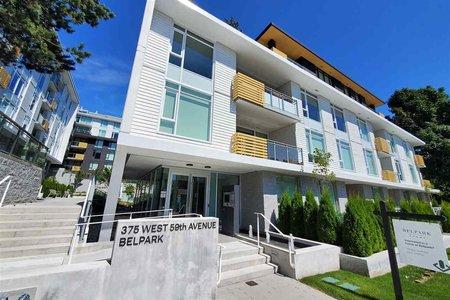 R2563347 - 102 375 W 59TH AVENUE, Oakridge VW, Vancouver, BC - Apartment Unit