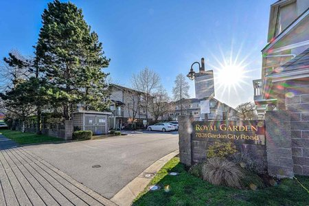R2564089 - 61 7831 GARDEN CITY ROAD, Brighouse South, Richmond, BC - Townhouse